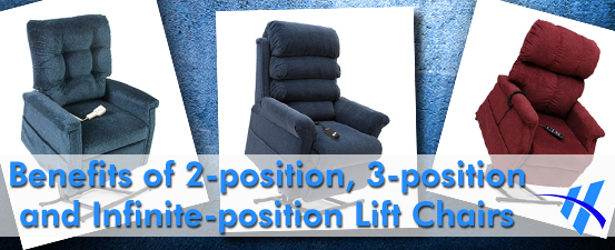 infinite-position lift chairs
