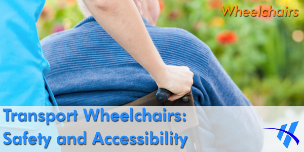 Transport wheelchairs are a low-cost and portable mobility option.