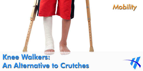 Using crutches can be painful to use.