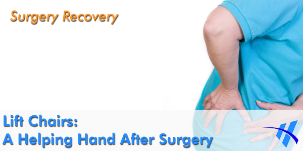 It is important not to strain your hip right after surgery.
