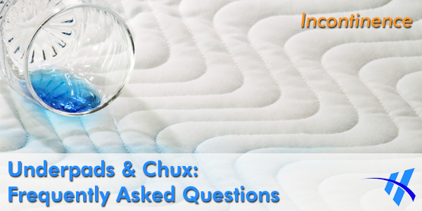 Underpads and chux are essential items for anyone living with incontinence.